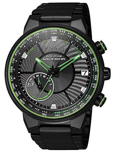Citizen Herren-Armbanduhr Eco-Drive Satellite Wave CC3075-80E