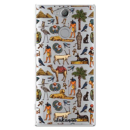 dakanna Funda Compatible con [Sony Xperia XA2] de Silicona Flexible, Dibujo Diseño...