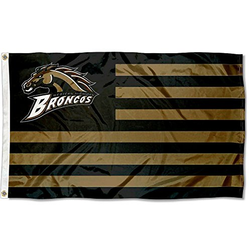 College Flags & Banners Co. Western Michigan Broncos Stars and Stripes Nation Flag