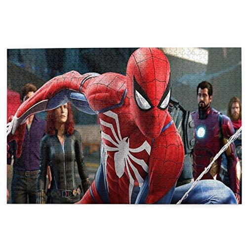 Best-design Rompecabezas de 1000 piezas de The Avengers para adultos, adolescentes, impresión de alta definición, multicolor (70 x 50 cm)