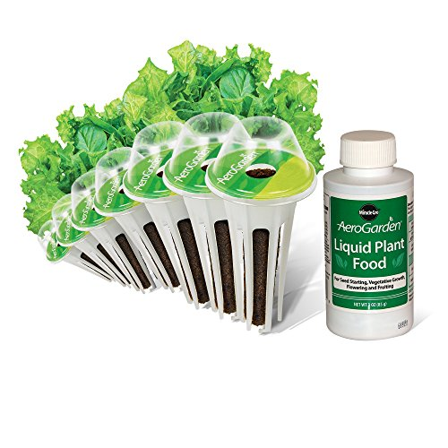 AeroGarden Salad Greens Mix Seed Pod Kit, 7 pod