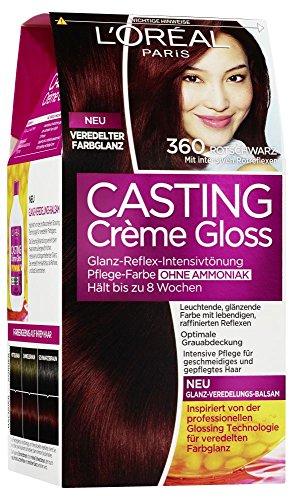 L'Oréal Paris Casting Crème Gloss Glanz-Reflex-Intensivtönung 360 in Rotschwarz