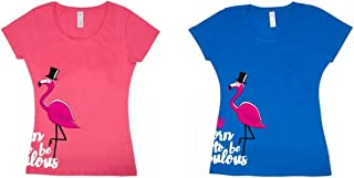 PFIFF Fabulous Flamingo - Camiseta para mujer