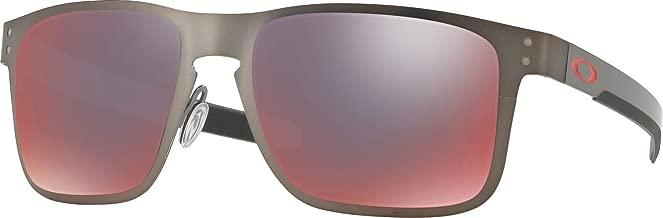 Oakley Men's OO4123 Holbrook Metal Square Sunglasses