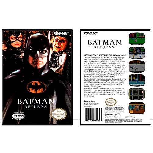 Batman Returns | NES - Game Case