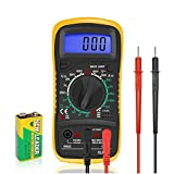 Digital Multimeters Car Battery Circuit Multi Tester Voltmeter Ammeter Ohmmeter AC/DC Voltage DC