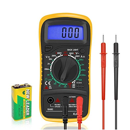 Digital Multimeters Car Battery Circuit Multi Tester Voltmeter Ammeter Ohmmeter...