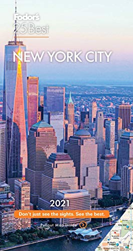 Fodor's New York 25 Best 2021 (Full-color Travel Guide)