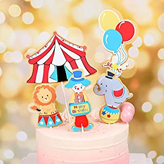 Baby Shower Babies 1st Birthday Meri Meri Silly Circus Cake Topper