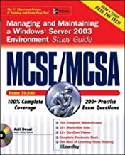 MCSE/MCSA Managing and Maintaining a Windows Server 2003 Environment Study Guide (Exam 70-290) (Certification Press) by Anil Desai (1-Sep-2003) Paperback