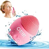 NIVAY Silicon Face Cleansing Brush Electric Sonic Facial Face Scrubber Silicone Waterproof Safe