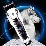 CXN Clipper Cortapelo para Perro Recargable Cortapelos para Mascotas Perros y Gatos Bajo Ruido Kit de Cortapelos Profesional Maquinillas Perros con 4 Peines Maquinilla de Afeitar