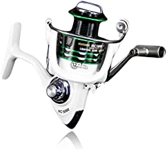 SHTONE 5.2:1/5.1:1 Gear Ratio Durable Fishing Reel, Ultra Smooth Powerful, Lightweight Spinning Reels for Freshwater and Saltwater Fishing