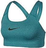 Nike Swoosh Women's Medium-Support Non-Padded Sports Bra Plus Size 1X Green
