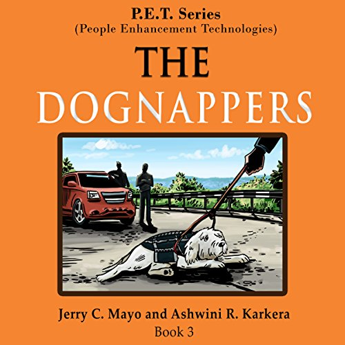 The Dognappers audiobook cover art