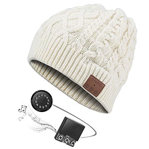 LNLJ Bluetooth beanie-muts met draadloze hoofdtelefoon-headset-microfoon, outdoor sport-ski-Snowboard-jogging