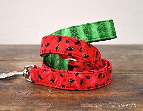 Correa Para Perro: Watermelon, Hecha a Mano en España por Wakakán: Amazon.es: Handmade