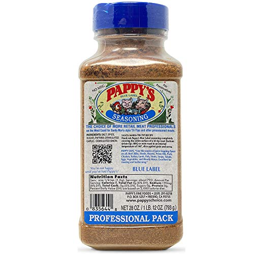 Pappy's Choice Seasonings - Less Salt. Perfect for bbq and smoked brisket, steak, beef, chicken, fajita, hogs, rib, seafood, bagel, popcorn, jerk, pizza and more.