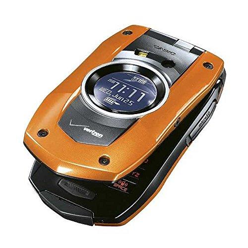 Verizon Casio GzOne Boulder No Contract Rugged Phone Orange