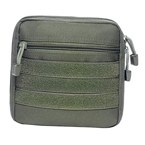 Sharplace Sac Molle Camping Sac de Taille Sacoche Multi-Usage Sac de Ceinture Voyage Accessoire - Armée Verte, comme décrit