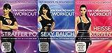 Kim Kardashian - Fitness Workout - Straffer Po + Sexy Bauch + Heiße Kurven 3 DVD Limited Edition