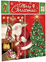 Amscan Magical Merry Christmas Santa Scene Setters Wall Decorating Kit 5 Pieces