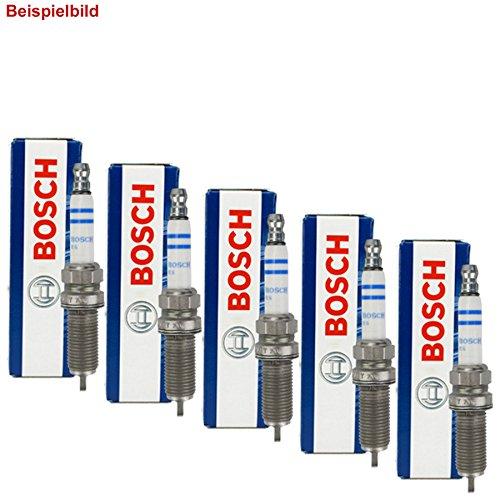 5 Bosch Zündkerzen Set Nickel