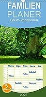Baum-Variationen - Familienplaner hoch (Wandkalender 2022 , 21 cm x 45 cm, hoch): Ob als Wald, Allee oder einzelstehender Blickfang - Baeume bereichern unsere Welt unverzichtbar und nachhaltig. (Monatskalender, 14 Seiten )