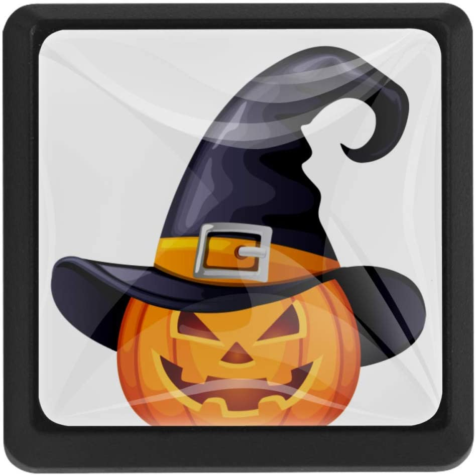 Square Halloween Invitation Card Kitchen Cabinet 1-3 OFFicial mail order 8 I Max 66% OFF - Knobs