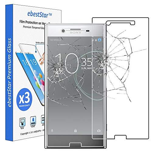 ebestStar - [Pacco x3 Vetro Temperato Compatibile con Sony Xperia XZ Premium, XZ Premium Dual Schermo Pacco da 3 Pellicole Anti Shock, Anti Rottura [Apparecchio: 156 x 77 x 7.9mm, 5.46'']