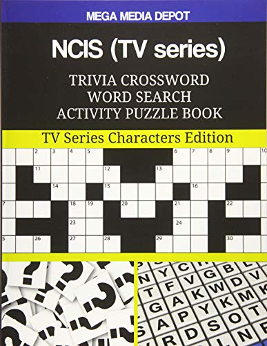 NCIS (TV series) Trivia Crossword Word Search Activity Puzzle Book: TV Series Characters Edition