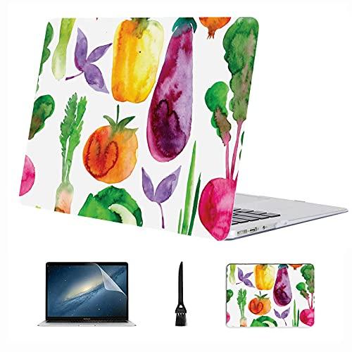 Custodia per laptop MacBook Pro Mais Verdura Verdura Frutta Plastica Custodia rigida compatibile Mac Air 13'Pro 13'/16' Custodia Macbook Air Custodia protettiva per Macbook versione 2016-2020