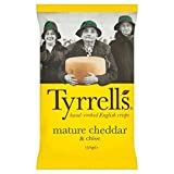 Tyrrells Cheddar & Chives Crisps - 150g