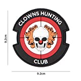 OPS Gear Patch - Clowns Hunting Club red