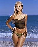 Gifts Delight Laminated 24x29 Poster: Jessica Alba Bikini Plage