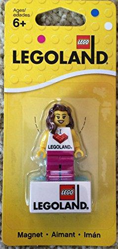 LEGO I Love LEGOLAND Girl Magnet