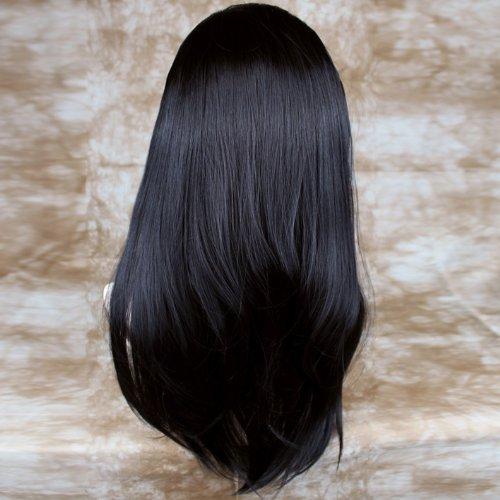 Extension de cheveux Noire 1 pièce 55cm de Long