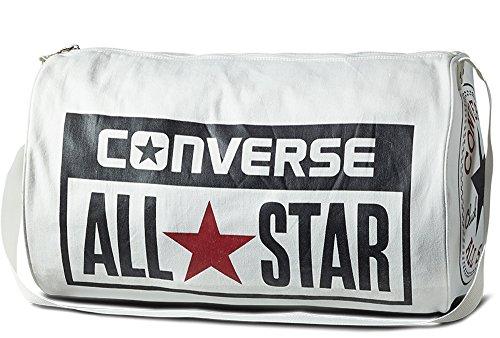 Converse Accesorios Bolsa de Viaje, 51 cm, 40 litros, Blanco