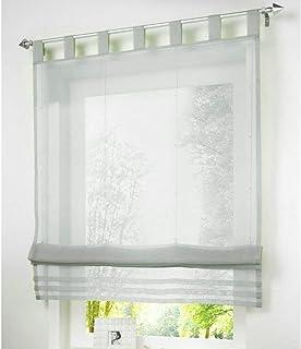 Römischer Vorhang Küche Fenster Jalousien Vorhänge Balkonvorhang Tüllvorhang