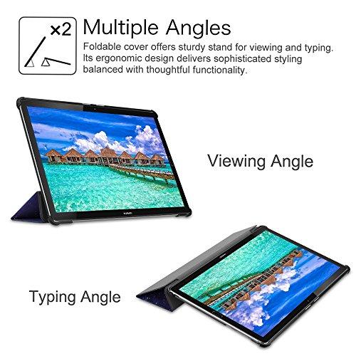 Fintie Hülle für Huawei MediaPad M5 / M5 Pro 10.8 Zoll 2018 - Ultra Schlank Ständer Schutzhülle mit Auto Sleep/Wake Funktion für Huawei MediaPad M5 10.8 Zoll 2018 Tablet,Die Galaxie