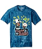 Liquid Blue Unisex-Adult's The Family Guy Make It Rain Money Ss T-Shirt, Blue tie dye, XX-Large