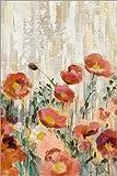 Poster 61 x 91 cm: Mohn Blumen III von Silvia