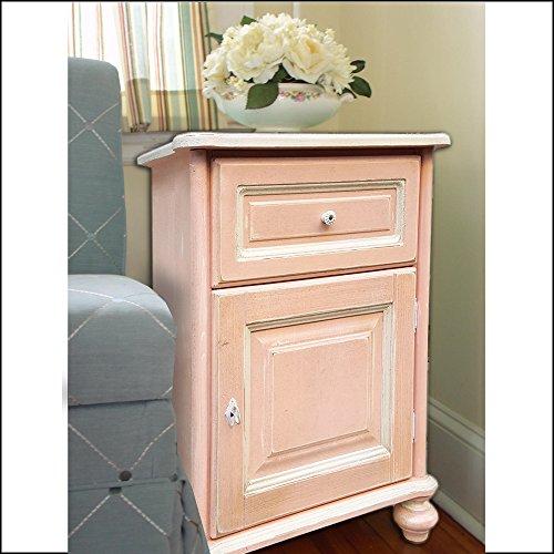 Mueble estilo Shabby Chic, color rosa, estilo provenzal