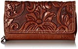 b.o.c. Womens Millstone Deluxe Wallet Saddle One Size