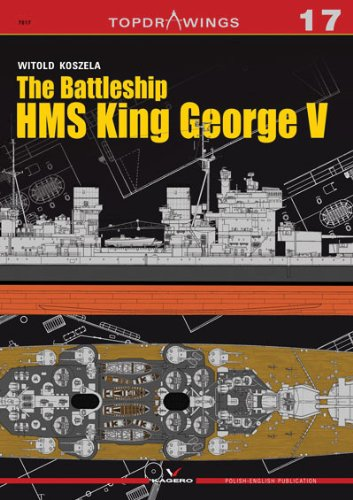 The Battleship HMS King George V (Top Drawings, Band 17)