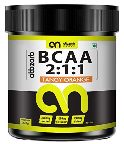 Abbzorb Nutrition BCAA 2:1:1 (Tangy Orange) (200 G)