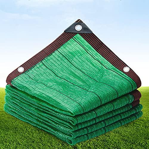 WMEIE Velas De Sombra, Toldo De Vela Rectangular, Red De Protección Solar Resistente A Los Rayos UV, para Fiestas En El Patio del Jardín Al Aire Libre,Verde,3x4m