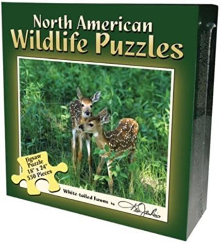 Boxed Puzzle - Fawn,550 peices