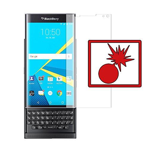 Slabo 2 x Panzerschutzfolie für BlackBerry Priv Panzerfolie Bildschirmschutzfolie Schutzfolie Folie Shockproof KLAR