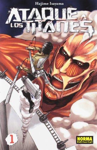 ATAQUE A LOS TITANES 01 (CÓMIC MANGA)
